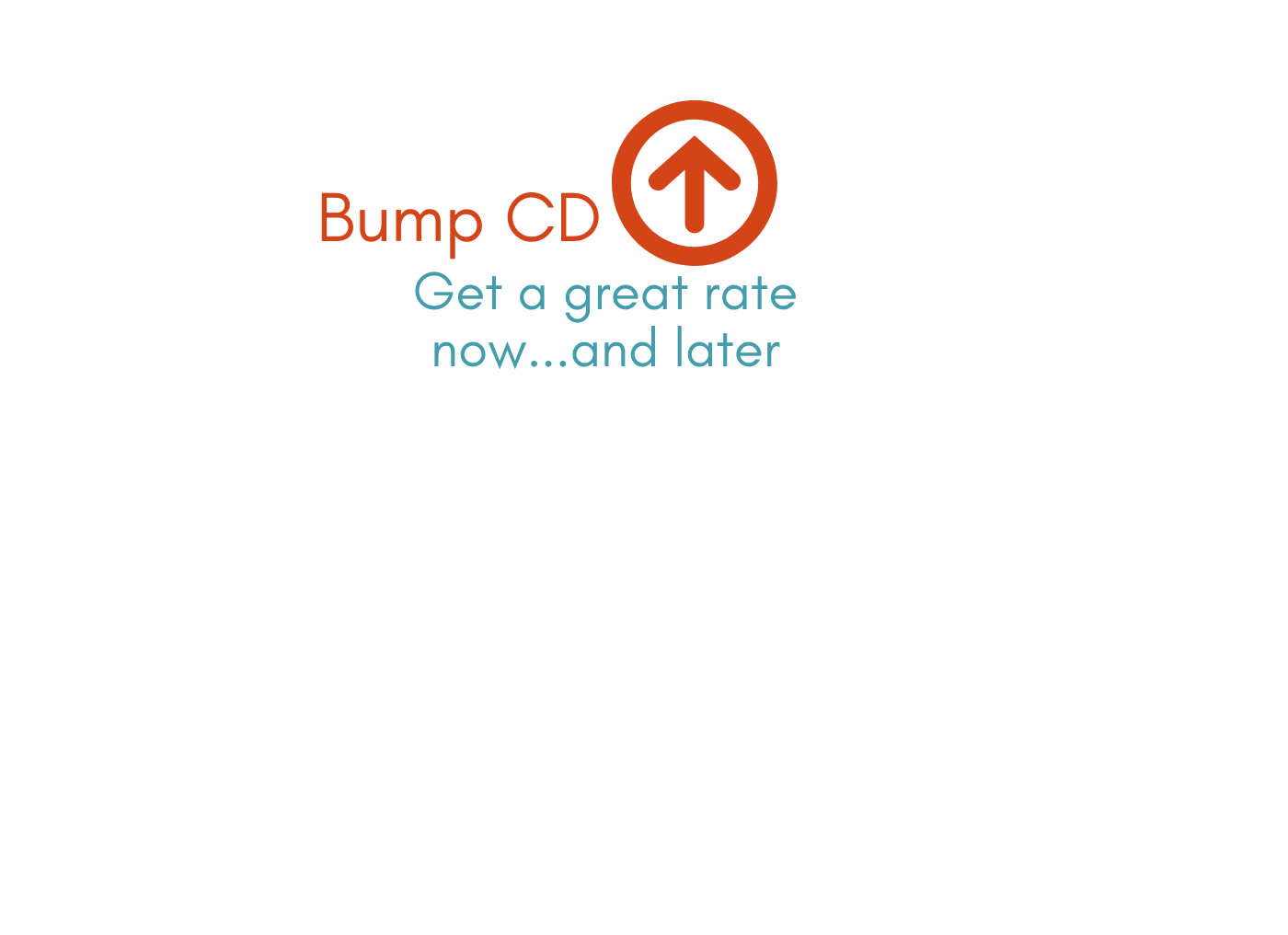 New Bump Rate Certificates of Deposit