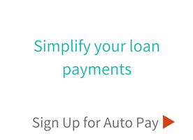 Simplify your loan payments with Auto Pay